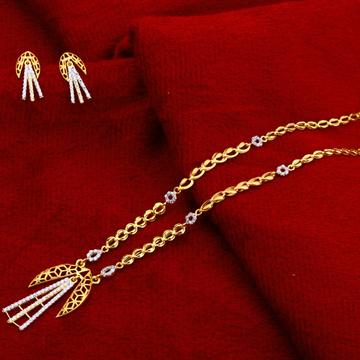 22kt Gold  Hallmark Fancy Chain Necklace  CN143