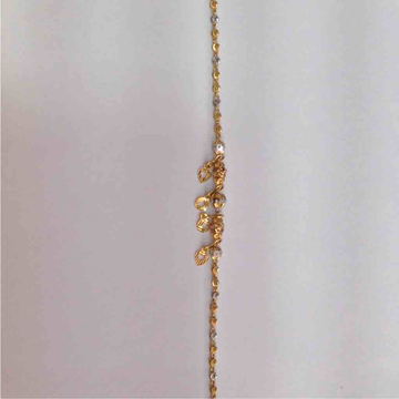 916 Gold Fancy Lucky Bracelet