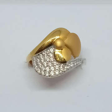 22KT Gold Ladies Ring LJ-14