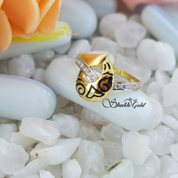 Meena Ring by Shubh Gold