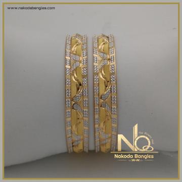 916 Gold Khilla Bangles NB-334