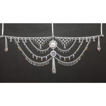 Silver Cross Jalri Fancy Half Waist Belts by