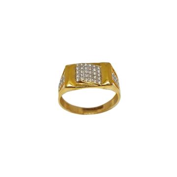 22K Gold Designer Gents Ring MGA - GRG0252
