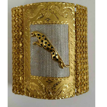 22K / 916 Yellow Gold Ethical Bracelet ( Lucky )