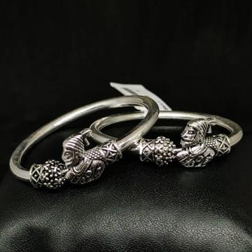 silver classical kids bracelet RH-BB875