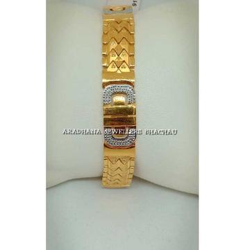 22KT Indian Gold Gents Bracelet