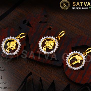 916 gold pendants SGP-0017