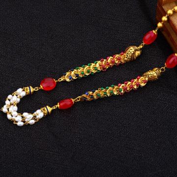 Antique Ladies 22K Gold MotiMala-AC156
