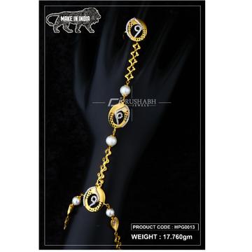 22 Carat 916 Gold Ladies hath panja hpg0013 by