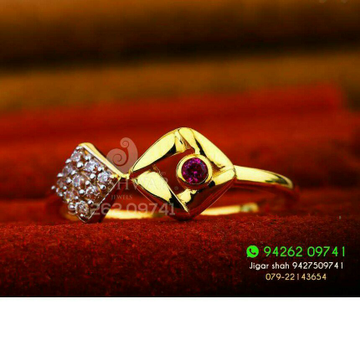 Unique Fancy Cz Ladies Ring LRG -0234