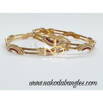 916 Gold CNC Bangles NB - 992