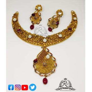 22 carat gold stylish ladies set RH-ST094