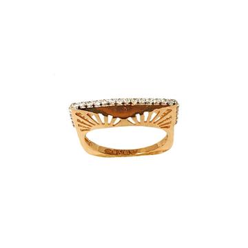 18K Rose Gold Modern Ring MGA - LRG1075