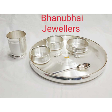 Silver  Dinner Set by Bhanubhai Jewellers