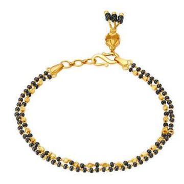 916 Gold Mangalsutra Bracelet by