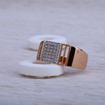 750 Rose Gold Ring RMR27