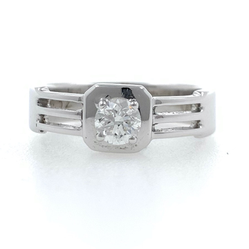 18kt / 750 white gold solitaire engagement diamond...