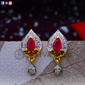 916 gold earrings sge-0041