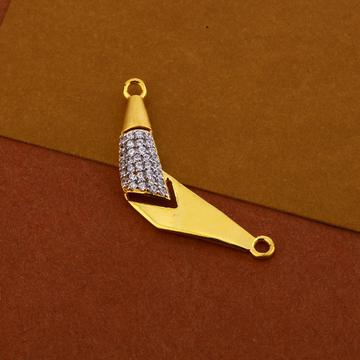 22kt Gold Gorgeous Women's Pendant MP288