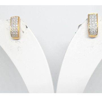 22KT / 916 Gold fancy casual CZ Earrings for ladies BTG0357