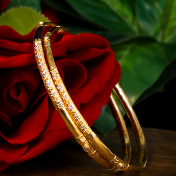 22KT Gold Copper Kadli Bangle