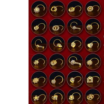 18kt Gold Nosepin
