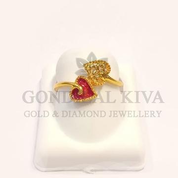22kt gold ring glr-h51