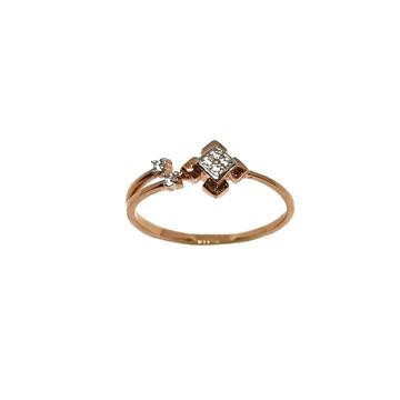 18K Rose Gold Square Shaped Designer Ring MGA - LRG1153