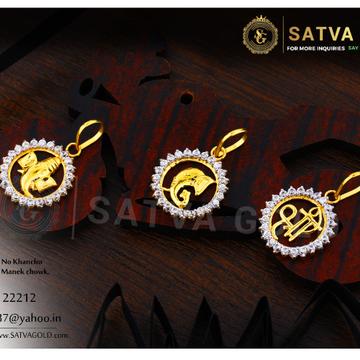 916 gold pendants SGP-0007