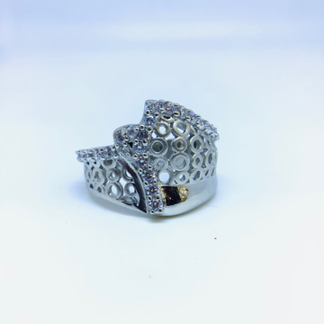 DESIGNING FANCY STERLING SILVER RING by