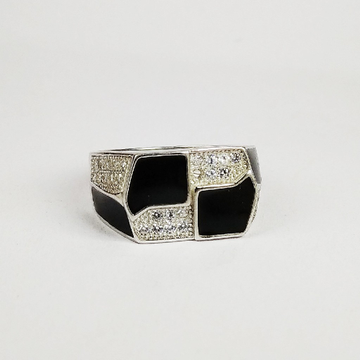92.5 sterling silver enamel ring ml-115
