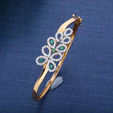 916 Gold Torque Bracelet