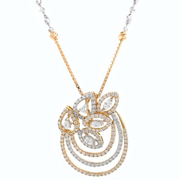Asombrosa Diamond Pendant in Rose Gold 8SHP60