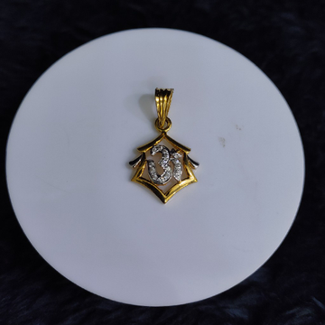22KT/916 Yellow Gold Azura Pendent  For Unisex