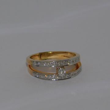 18K gold diamond ring agj-lr-276