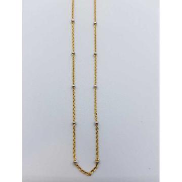 916 Gold Rhodium chain CHIN/57