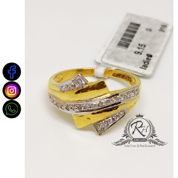 22 carat gold fancy daimond ladies rings RH-LR461