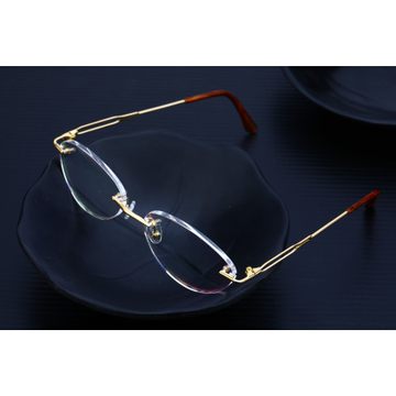 Mens 18K Gold Spectacles-S07