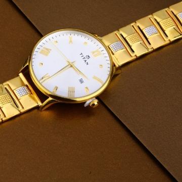 22 carat gold hallmark fancy mens watch rh-ga487
