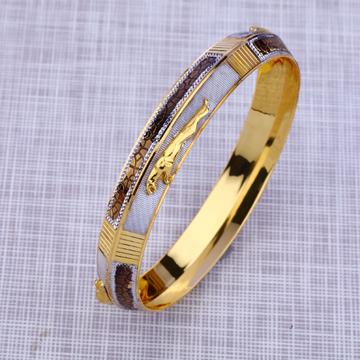916 Gold Designer Bangle Kada MPKB16