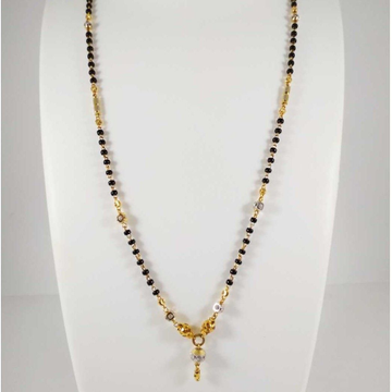 22 k gold Fancy Mangalsutra. NJ-M0297
