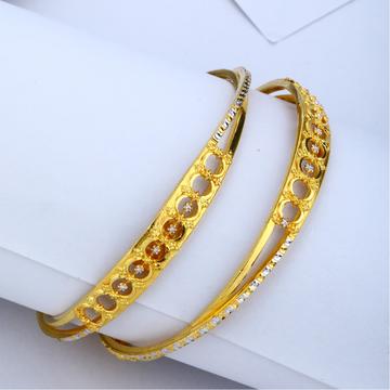 916 Gold Hallmark Copper Kadli Bangle