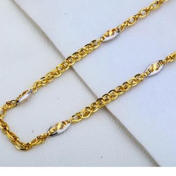 22 carat gold fancy mens choco chain RH-GC569