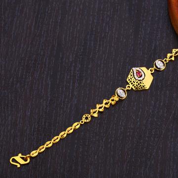 22KT Gold Stylish Women's Bracelet LB311