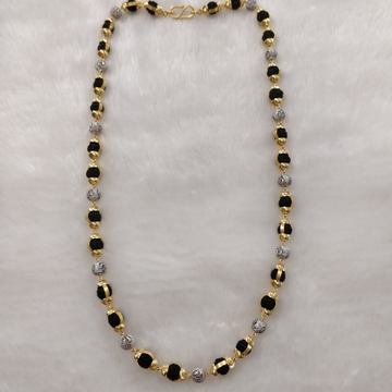 916 Gold Fancy Gent's Rudraksh Mala