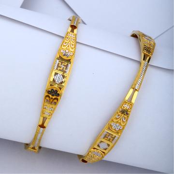 916 Gold Fancy Copper Kadli Bangle