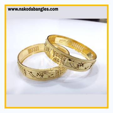 916 Gold Patra Bangles NB - 832