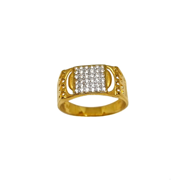 22K Gold CZ Diamond Designer Ring MGA - GRG0221
