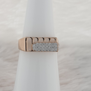 square Gents ring