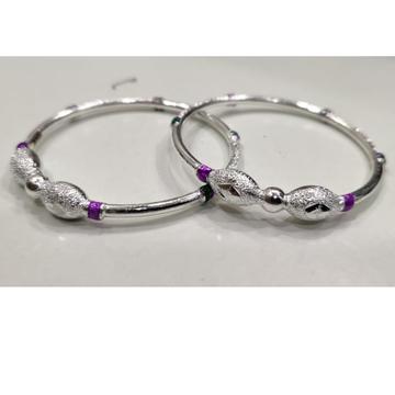 Silver laides vaccum bangles rh-vb662
